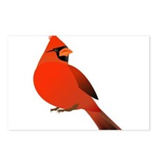 Red Cardinal Postcards (Package of 8)