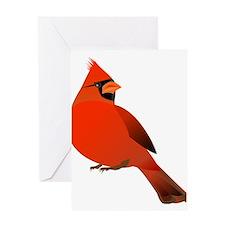 Red Cardinal Greeting Cards