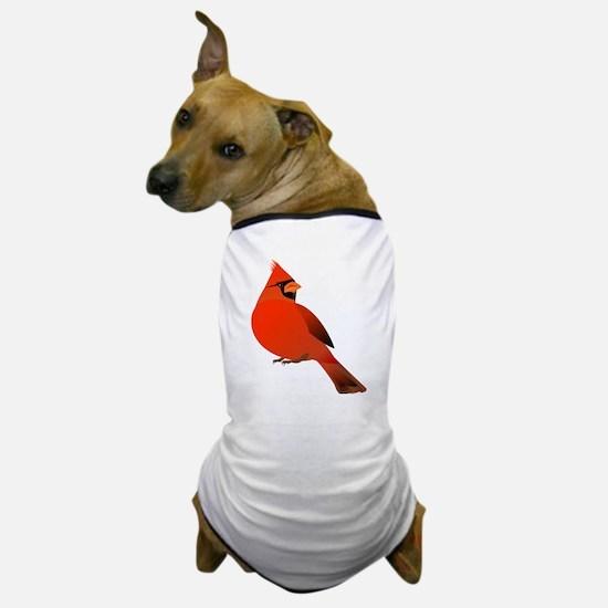 Red Cardinal Dog T-Shirt