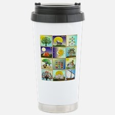 12 Tribes Of Israel Travel Mug