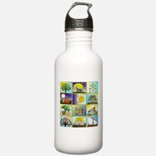 12 Tribes Of Israel Water Bottle