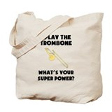 Trombone Regular Canvas Tote Bag