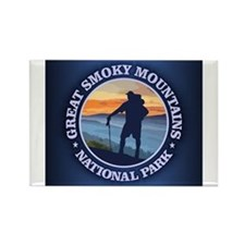 Funny Great smoky mountain Rectangle Magnet