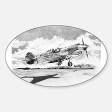 P-40 Oval Decal