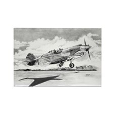 P-40 Rectangle Magnet