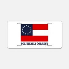 CSA 1st Nat Politically Correct Aluminum License P