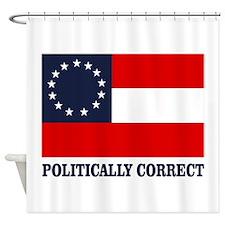 CSA 1st Nat Politically Correct Shower Curtain