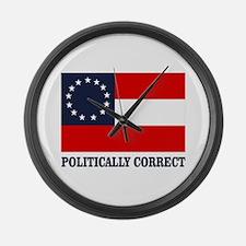 CSA 1st Nat Politically Correct Large Wall Clock