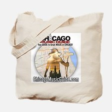 13-Monsters/Chicago Music Guide Design 01 Tote Bag