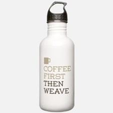 Coffee Then Weave Water Bottle
