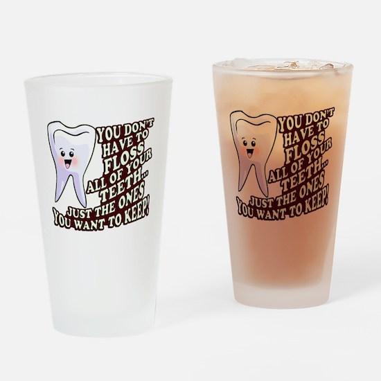 Dentist Dental Hygienist Drinking Glass