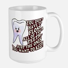 Dentist Dental Hygienist Large Mug