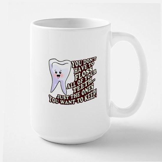 Dentist Dental Hygienist Large Mug