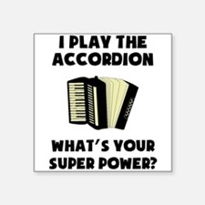 I Play The Accordion Whats Your Super Power? Stick