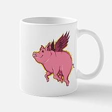 Flying Pig Mugs
