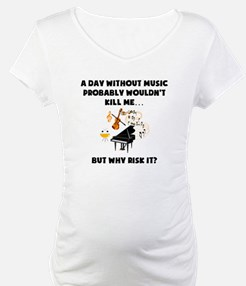 A Day Without Music Shirt
