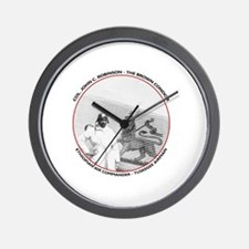 Brown Condor & Lion of Judah on Ethiopi Wall Clock