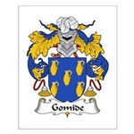 Gomide Family Crest  Small Poster