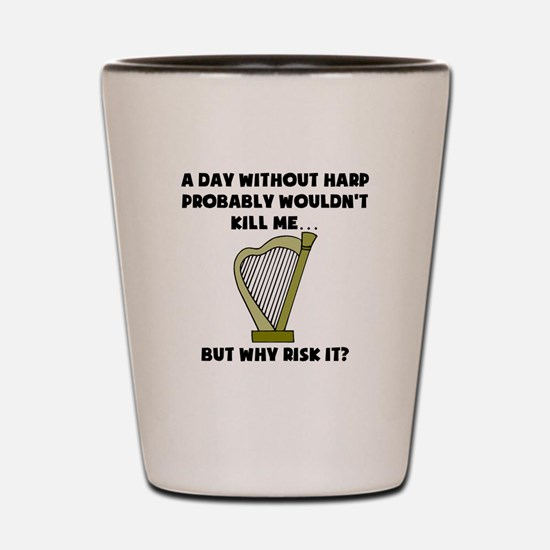 A Day Without Harp Shot Glass