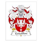 Godolfim Family Crest Small Poster