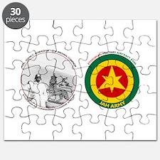 Brown Condor & Lion of Judah on Ethiopian A Puzzle