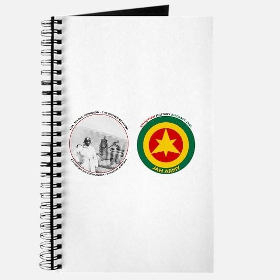 Brown Condor & Lion of Judah on Ethiopian Journal