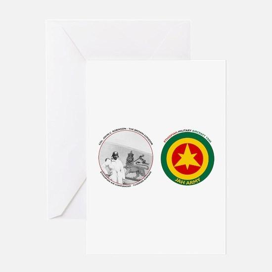 Brown Condor & Lion of Judah on Ethi Greeting Card