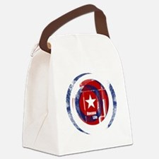 Funny Havana Canvas Lunch Bag