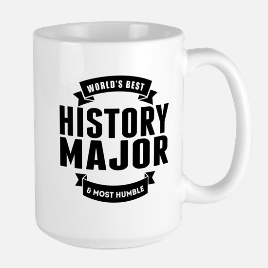 Worlds Best And Most Humble History Major Mugs