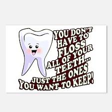 Dentist Dental Hygienist Postcards (Package of 8)