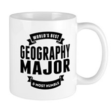 Worlds Best And Most Humble Geography Major Mugs