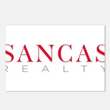 SANCAS Realty Logo Preferred Postcards (Package of