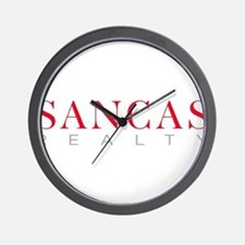 SANCAS Realty Logo Preferred Wall Clock