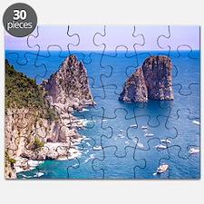 Capri Faraglioni Rocks Puzzle