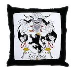Geraldes Family Crest  Throw Pillow