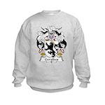 Geraldes Family Crest  Kids Sweatshirt