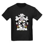 Geraldes Family Crest  Kids Dark T-Shirt