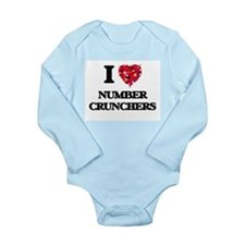 I Love Number Crunchers Body Suit