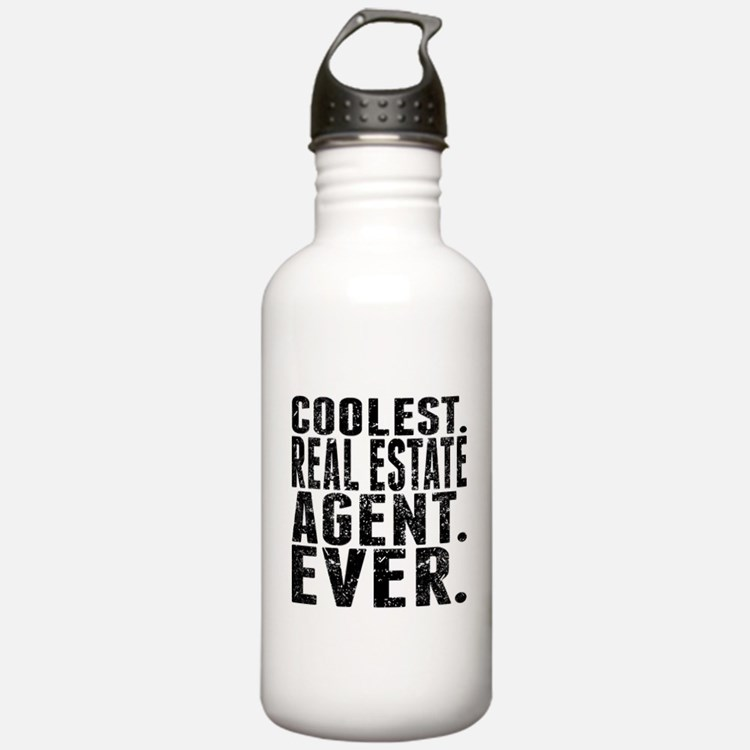 Coolest. Real Estate Agent. Ever. Water Bottle