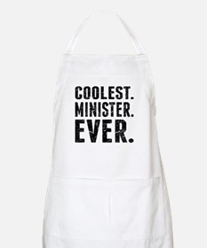 Coolest. Minister. Ever. Apron