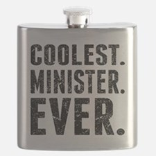 Coolest. Minister. Ever. Flask