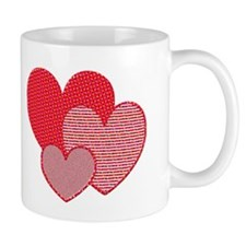 Three Hearts Mug