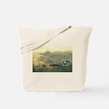 Texas Dust Storm Tote Bag