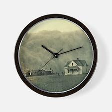 Texas Dust Storm Wall Clock