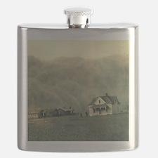 Texas Dust Storm Flask