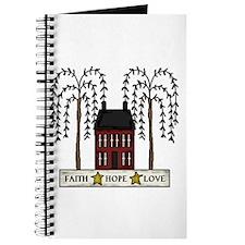 Faith,Hope,Love Journal