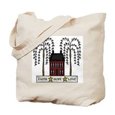 Faith,Hope,Love Tote Bag