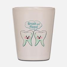 Dentist Dental Hygienist Shot Glass