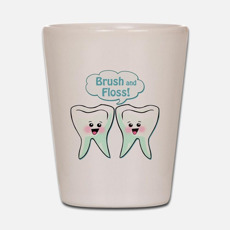 Dentist Dental Hygienist Shot Glass