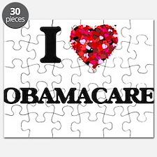 I Love Obamacare Puzzle